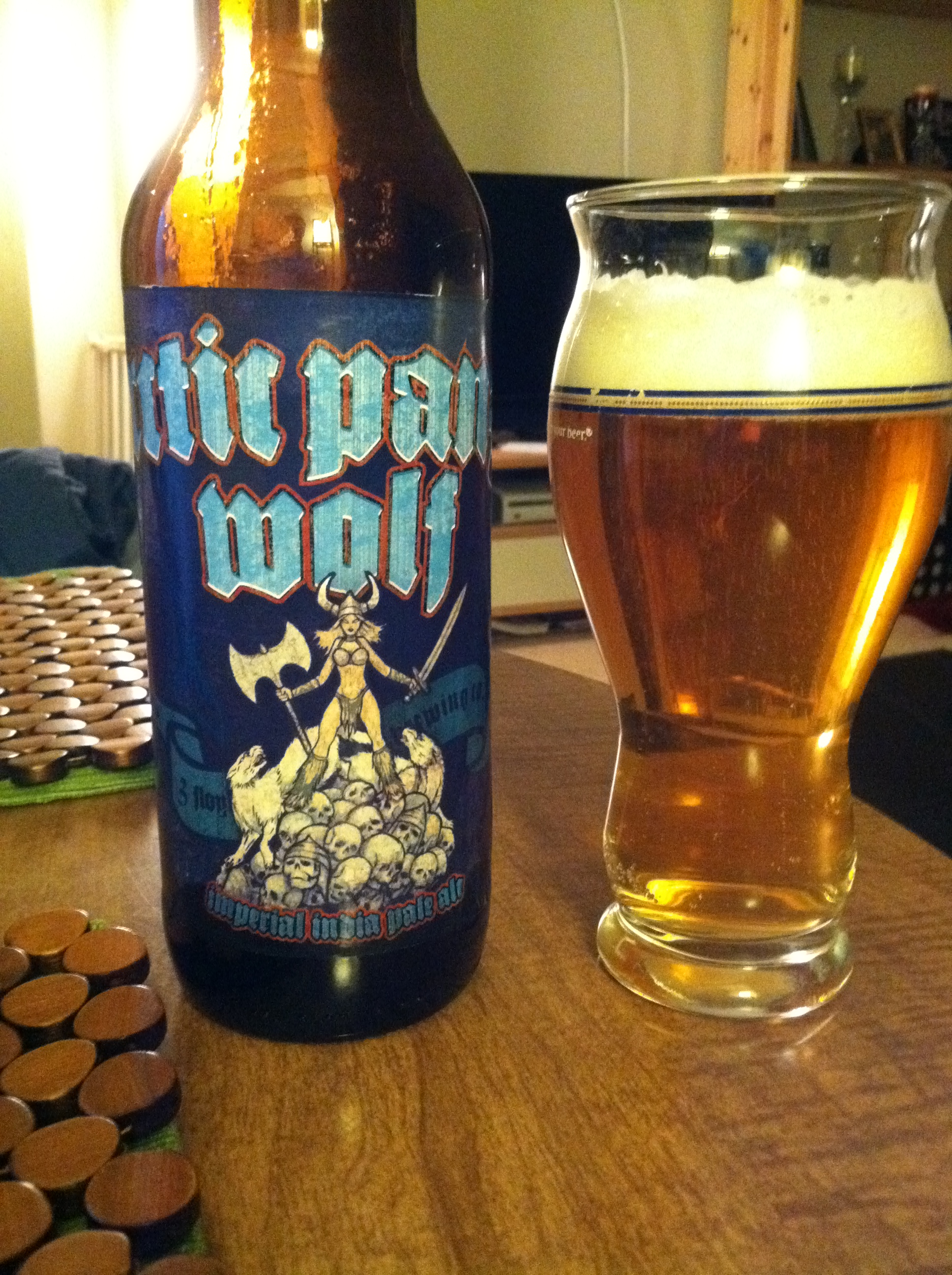 3 Floyds Arctic Panzer Wolf Imperial IPA 9 Abv