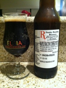 The Funkiest Buddha Maple Bacon Coffee Porter