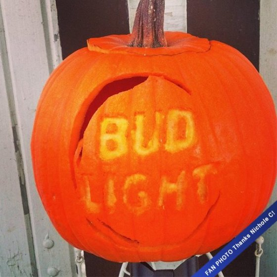 Not sure how to break it to the neighbors that you are a registered sex offender? Carve this pumpkin and sit on the porch with your 25oz can, they will figure it out.