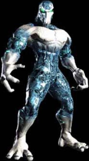 There you go. That's Glacius, do you even Killer Instinct?
