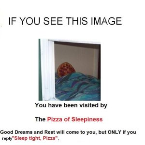 OH SHIT TODAY IS PIZZA DAY