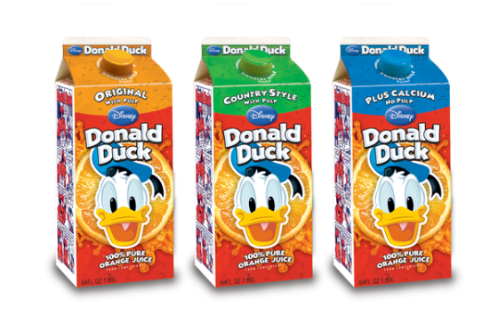 tickers recognize and say DDB the truth and the IPA same color Donald Duck orange juice