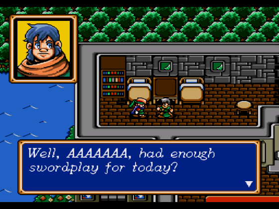 Alright, some Sega Genesis RPG references, baiting the readerbase like usual, keep it coming, phoning in the content, that cynical nostalgia carapace as thin as a Socratic discourse.