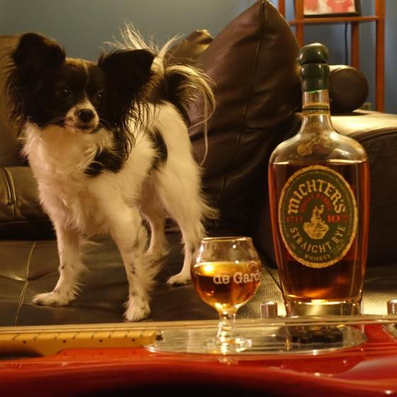 Basses, Michter's.  Papillons.  What else do you need in life?
