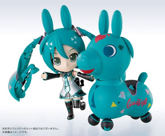 NO WAY GUIEZ: Chogokin Miracle Henkei Hatsune Miku Rody: the most unusual, awesome tie-up toy of the year!
