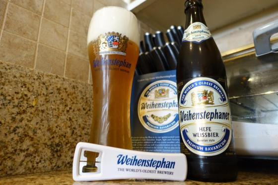 No one sent me this, I totally just have all this Weihenstephaner merch laying around